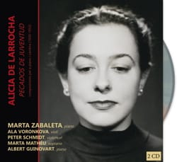 Alicia de Larrocha - Pecados de juventud. 2 CD - Partitura - di-arezzo.it
