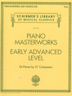 - Piano Masterworks. Early advanced level - Partition - di-arezzo.fr