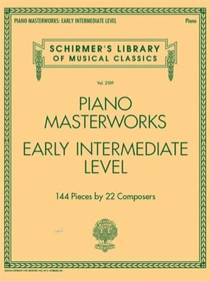 Piano Masterworks. Early intermediate level - Partition - di-arezzo.fr