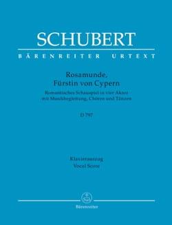 SCHUBERT - Rosamunde D 797 - Sheet Music - di-arezzo.com