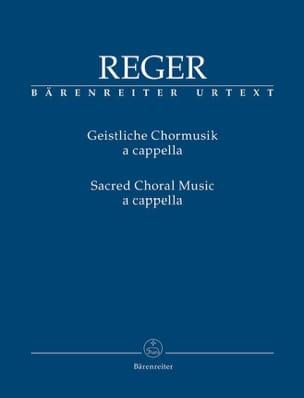 Max Reger - Geistliche Chormusik a cappella - Partition - di-arezzo.fr