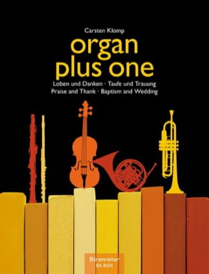 Carsten Klomp - Organ Plus one. Baptisms and marriage - Partition - di-arezzo.co.uk