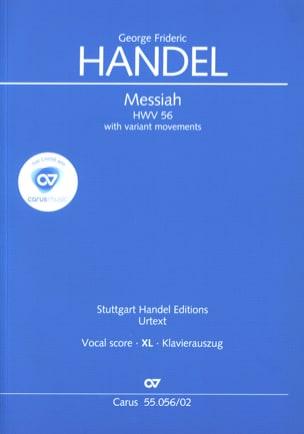 Messiah Hwv 56 avec ornemantations (grand format) - laflutedepan.com