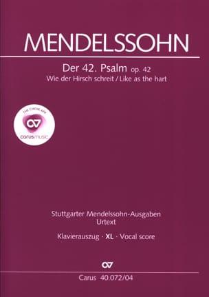 Der 42. Psalm. Wie Der Hirsch Schreit XL Format - laflutedepan.com