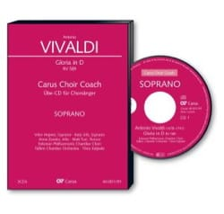 Antonio Vivaldi - Gloria Rv 589. CD Basse - Partition - di-arezzo.fr