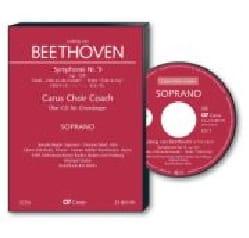 An die Freude. CD Soprano CHOEUR - BEETHOVEN - laflutedepan.com