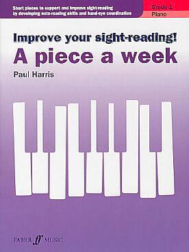 Paul Harris - A piece a week. Volume 1 - Sheet Music - di-arezzo.com