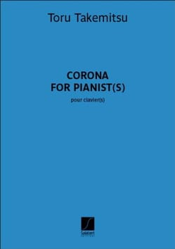 Corona for pianists - Toru Takemitsu - Partition - laflutedepan.com