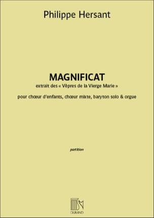 Philippe Hersant - Magnificat - Partition - di-arezzo.fr