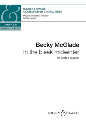 In the bleak midwinter - Becky McGlade - Partition - laflutedepan.com