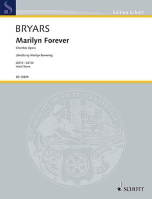 Gavin Bryars - Marilyn for ever - Sheet Music - di-arezzo.com