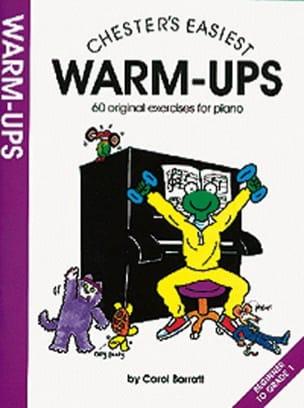 Carol Barratt - Warm-ups - Sheet Music - di-arezzo.com