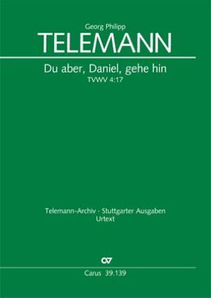 TELEMANN - From the aber, Daniel, gehe hin Tvwv 4:17 - Sheet Music - di-arezzo.com