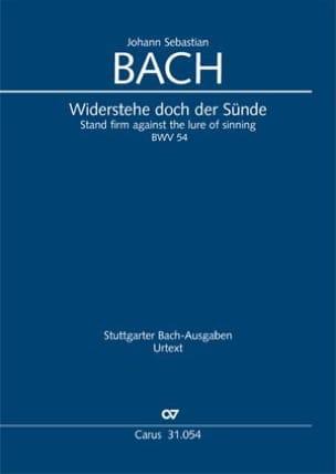 Cantate 54. Widerstehe doch der Sünde - laflutedepan.com