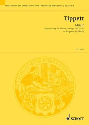 Music - Michael Tippett - Partition - Chœur - laflutedepan.com