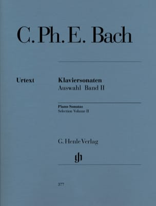 Carl-Philipp Emanuel Bach - Sonates choisies pour piano Volume 2 - Partition - di-arezzo.fr