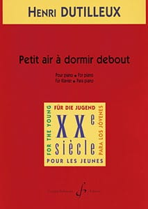 Henri Dutilleux - Small Air To Sleep Standing - Sheet Music - di-arezzo.co.uk