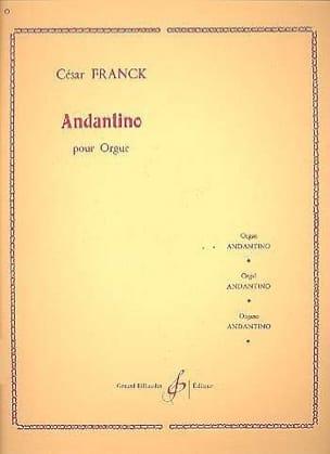 Andantino FRANCK Partition Orgue - laflutedepan