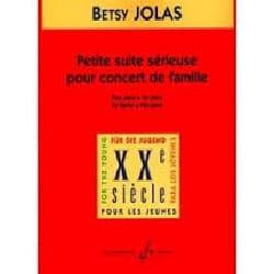 Betsy Jolas - Petite Suite Sérieuse Pour Concert de Famille - Partition - di-arezzo.fr