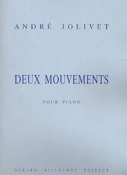 2 Mouvements André Jolivet Partition Piano - laflutedepan