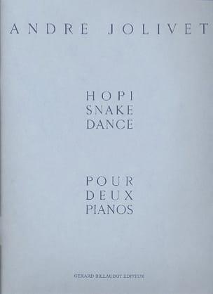 André Jolivet - Hopi Snake Dance. 2 Pianos - Partition - di-arezzo.fr