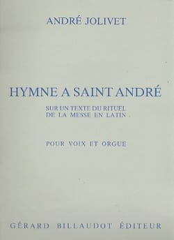André Jolivet - Hymn To Saint Andrew - Sheet Music - di-arezzo.com