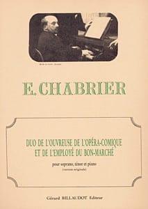 Duo de L'ouvreuse de L'opéra Comique et L'employé Du Bon Marché laflutedepan
