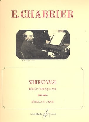 Scherzo Valse CHABRIER Partition Piano - laflutedepan
