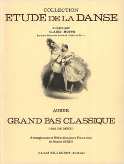 Daniel Auber - Grand Pas Classique Pas De Deux - Partition - di-arezzo.fr