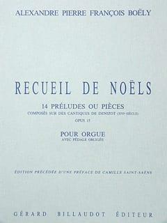 Recueil de Noëls Opus 15 - laflutedepan.com