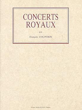 Concerts Royaux - François Couperin - Partition - laflutedepan.com