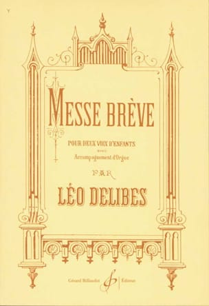 Léo Delibes - Brief Mass - Partition - di-arezzo.com