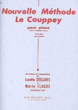 Le Couppey / Descaves Lucette - New Method the Couppey - Sheet Music - di-arezzo.co.uk