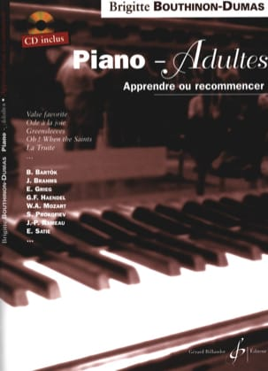 Brigitte Bouthinon-Dumas - Piano-Adultes - Partition - di-arezzo.fr