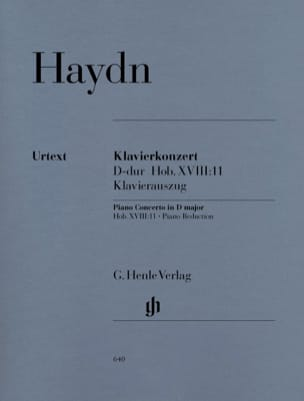 HAYDN - Concerto for piano in D major Hob 18-11 - Sheet Music - di-arezzo.com