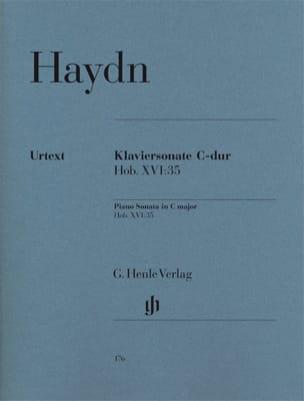 Sonate Pour Piano En Ut Majeur Hob 16-35 - HAYDN - laflutedepan.com