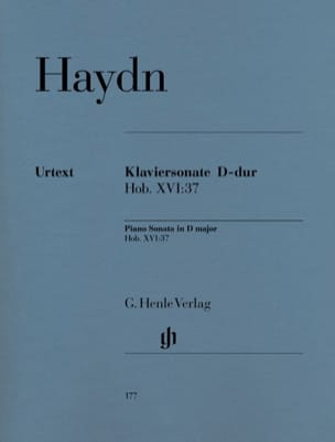 HAYDN - Sonata For Piano D Major Hob 16-37 - Sheet Music - di-arezzo.com