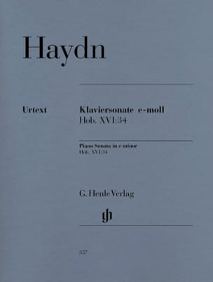 HAYDN - Sonata For Piano In E Minor Hob 16-34 - Sheet Music - di-arezzo.com
