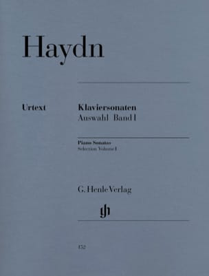 Sonates choisies pour piano Volume 1 - HAYDN - laflutedepan.com
