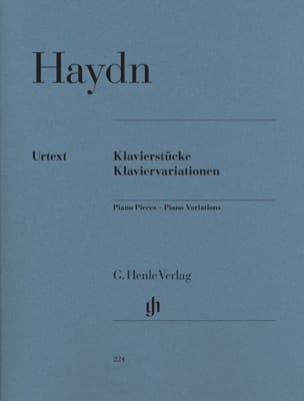 HAYDN - Klavierstücke. Klaviervariationen - Sheet Music - di-arezzo.co.uk