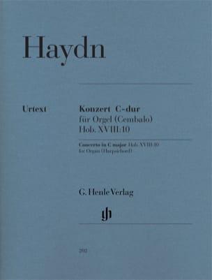 Joseph Haydn - Concerto pour orgue en Ut majeur Hob. 18-10 - Partition - di-arezzo.fr