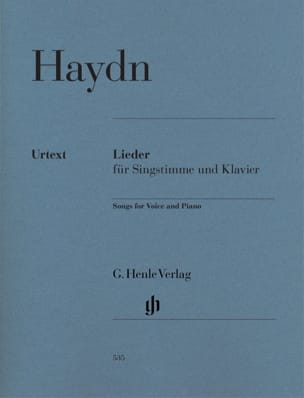 HAYDN - Lieder - Sheet Music - di-arezzo.co.uk
