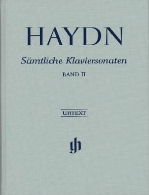 HAYDN - Sonates Complètes Pour Piano, Volume 2 - Edition Reliée - Partition - di-arezzo.fr
