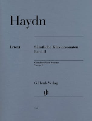 HAYDN - Complete Sonatas For Piano Volume 2 - Sheet Music - di-arezzo.com