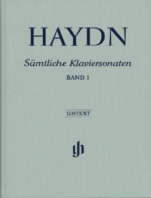 HAYDN - Sonates Complètes Pour Piano, Volume 1 - Edition Reliée - Partition - di-arezzo.fr