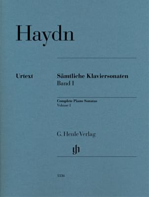 HAYDN - Complete Sonatas For Piano Volume 1 - Partition - di-arezzo.co.uk