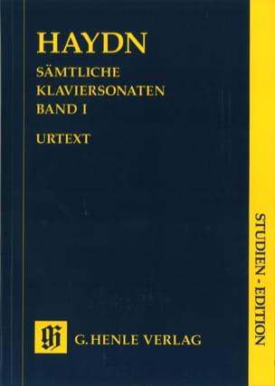 Sonates pour piano. Volume 1 HAYDN Partition laflutedepan