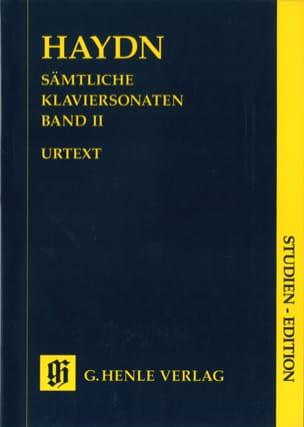Sonates pour piano. Volume 2 - HAYDN - Partition - laflutedepan.com