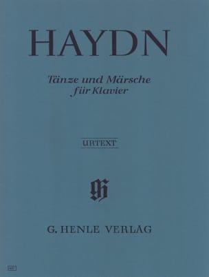 Danses et marches pour piano - HAYDN - Partition - laflutedepan.com