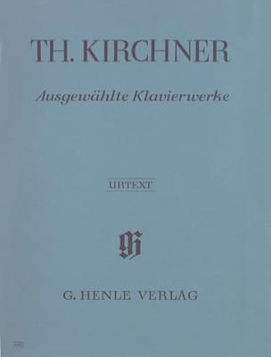Ausgewählte Klavierwerke - Theodor Kirchner - laflutedepan.com
